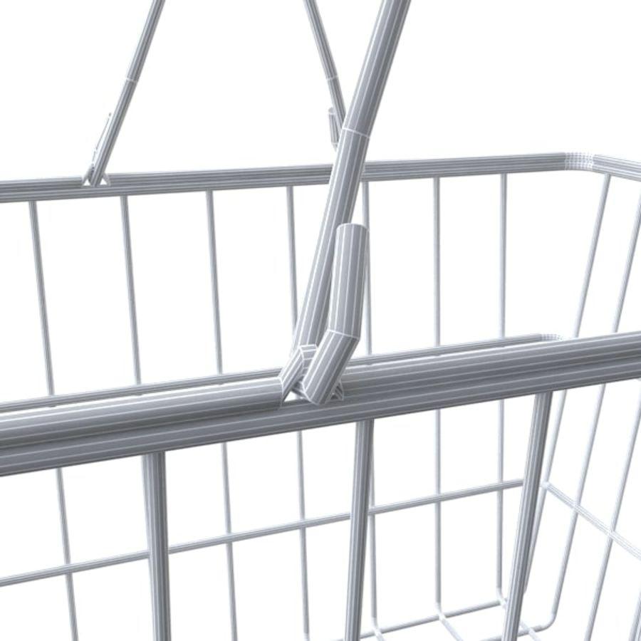cestas de compras de supermercado royalty-free 3d model - Preview no. 4