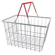 supermarket shopping baskets 3d model