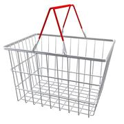supermarket shopping baskets 3d model