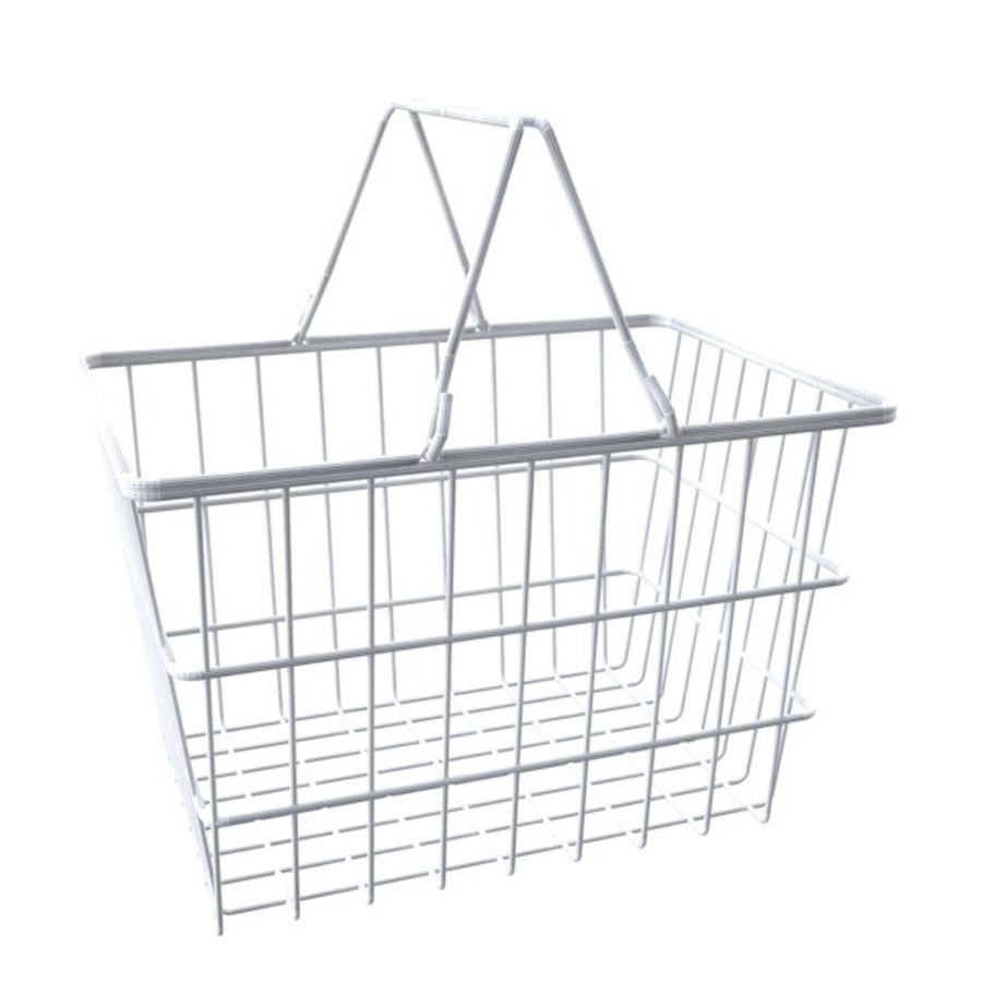 cestas de compras de supermercado royalty-free 3d model - Preview no. 5