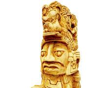 Réplica de figura asteca 3d model
