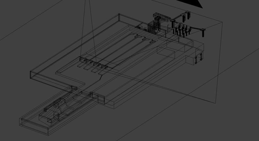 Grundläggande färghamn royalty-free 3d model - Preview no. 17
