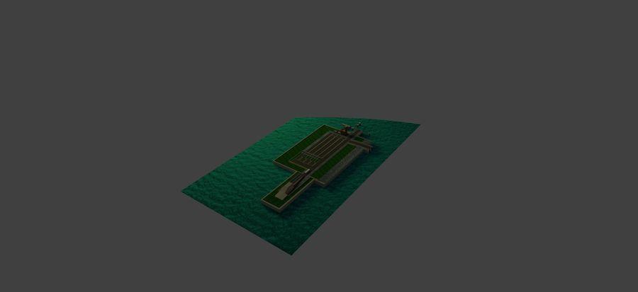 Grundläggande färghamn royalty-free 3d model - Preview no. 28