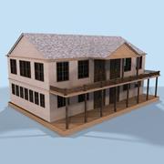 Plantation Inn 3d model