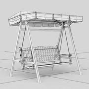 Columpio de jardín modelo 3d