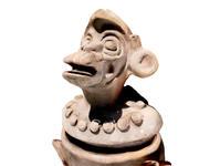 Ancient aztec monkey replica 3d model