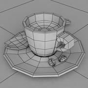 Filiżanka espresso 3d model