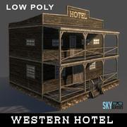 Hôtel occidental 3d model