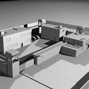 Militaire basis (1) 3d model