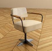 Jean Prouve Desk Chair 3d model