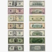 Amerikaanse dollars 3d model