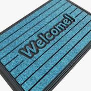 Welcom Mat 3d model