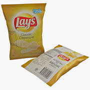 Lays Chips Bag 3d model