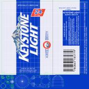 Puszka na piwo Keystone 3d model