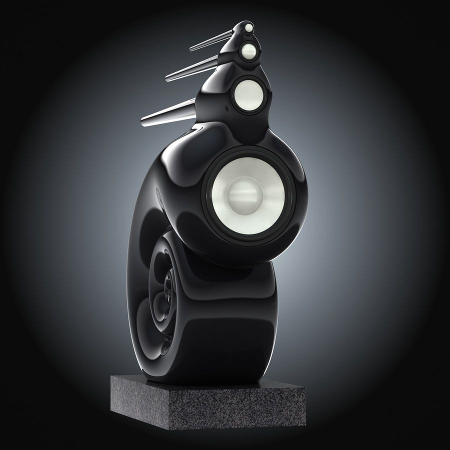 Bowers and Wilkins Nautilus 3D Model $20 - .obj .3ds .max - Free3D