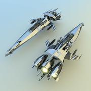 MX Spartan III modelo 3d