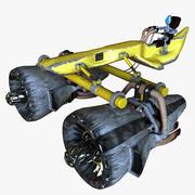 노란 깍지 경주자 3d model