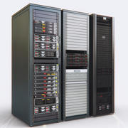 HP Server Racks Pack 3d model