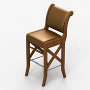 의자 바 3d model