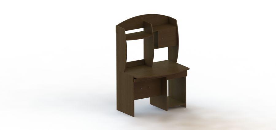 木製テーブル royalty-free 3d model - Preview no. 2