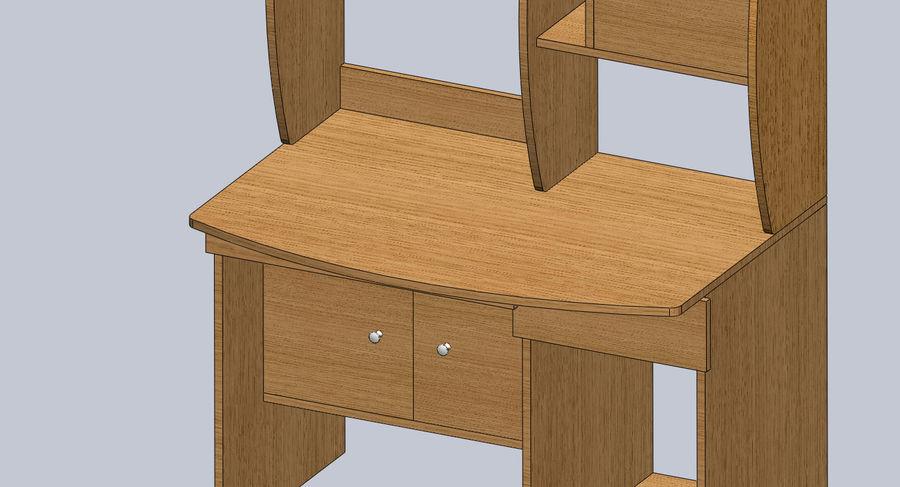 木製テーブル royalty-free 3d model - Preview no. 6