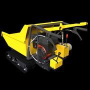 전동 배 로우 3d model