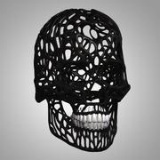 设计头骨 3d model