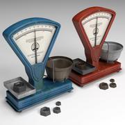 Old Balance 3d model