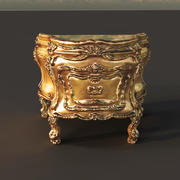 Royal desk 3d model