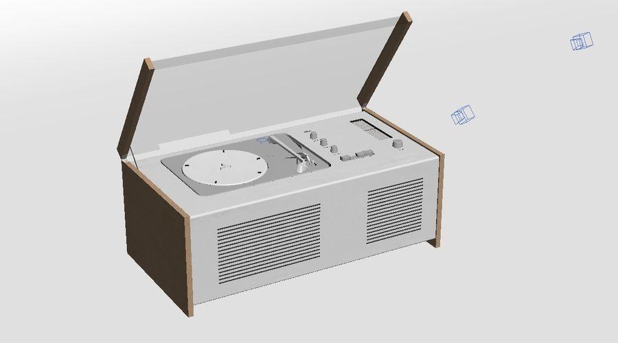 SK5 platenspeler royalty-free 3d model - Preview no. 4