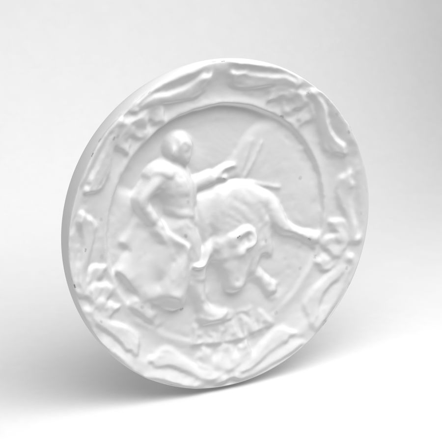 スペインマタドールマグネットギフト royalty-free 3d model - Preview no. 5