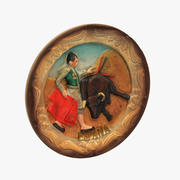 Spain Matador Magnet Souvenir 3d model