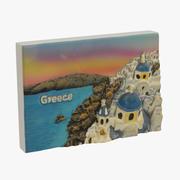 Grekland Magnet Souvenir 3d model