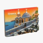 Greece Magnet Souvenir 2 3d model