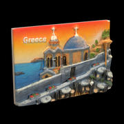 Greece Magnet Souvenir 2 3d model