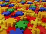 Color puzzle 3d model