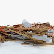 escombros de construcción 4 modelo 3d