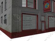 Comic Book Store 3d model