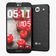 Smartphone LG Optimus G Pro E985 nero 3d model