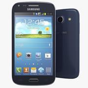 Samsung Galaxy Core Blue modelo 3d