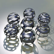 3D Sphere Graphics 3d model