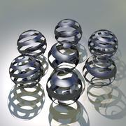 3D Сфера Графика 3d model