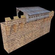 Wall Hoarding 3d model