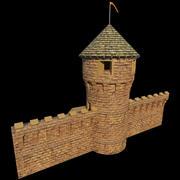 Castle Tower 2 3d model