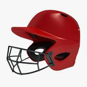 Baseball Helmet 01 3d model