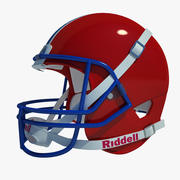 フットボール用ヘルメット01 3d model