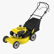 Professional Lawn Mower 3d model
