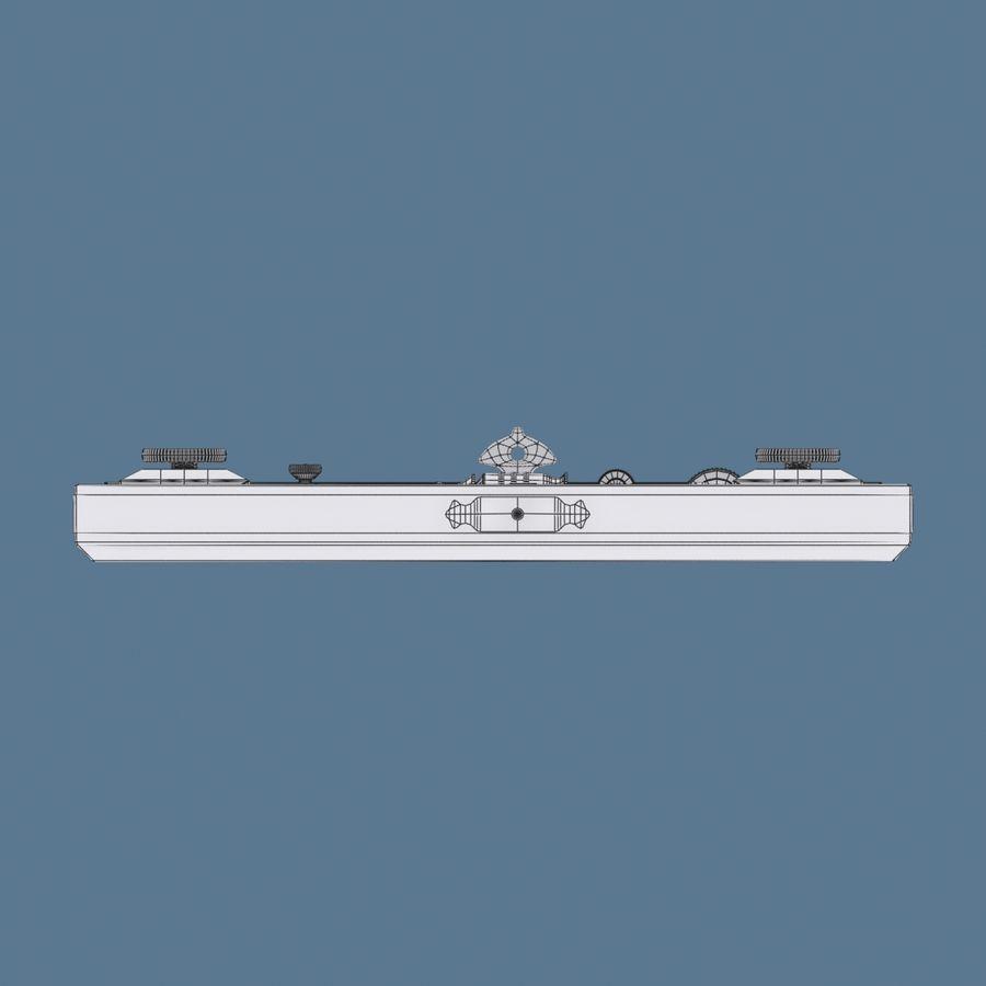 Estuche Compases royalty-free modelo 3d - Preview no. 10