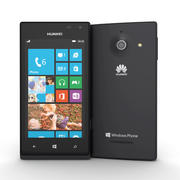Huawei Ascend W1 Windows Phone Smartphone 3d model