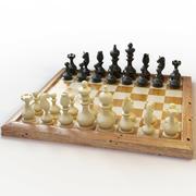 Satranç takımı 3d model